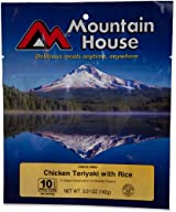 Mountain House Chicken Teriyaki with Rice - 2 Servings