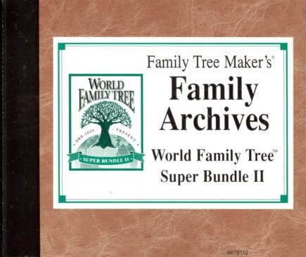 Family Tree Maker - Family Archives Super Bundle II