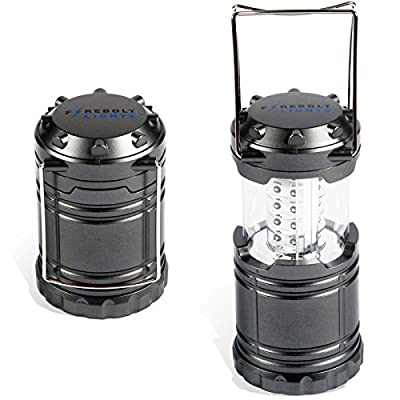 Super-bright 30 LED Collapsible Camping Lantern - Perfect for Camping, Hiking & Fishing. Never Get Caught in the Dark Again!
