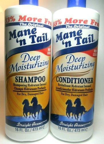 Mane n Tail Deep Moisturizing Shampoo & Conditioner 16 oz (Mane N Tail Shampoo Conditioner compare prices)