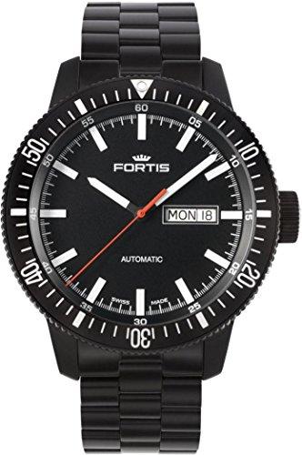 Fortis B-42 Monolith 647.18.31.M Reloj Automático para hombres Recubierto con PVD