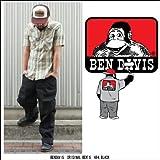 BEN DAVIS BENDAVIS ベンデイビス original cut 694 blk ワークパンツ