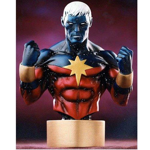 Captain Marvel (Modern Variant) Mini Bust by Bowen Designs (Marvel Bowen compare prices)