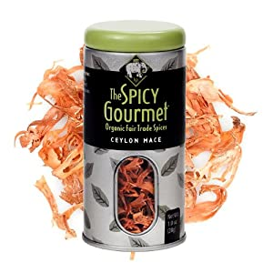 The Spicy Gourmet Organic Whole Mace 10 Oz from The Spicy Gourmet