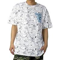 (テンプルエフェクティブ)TEMPLE EFFECTIVES Tシャツ メンズ 半袖 自動小銃 取扱説明書 B系ファッション ストリート系 SU1001