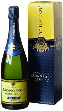 Monopole HeidsieckBlueTop Brut Champagner mit Geschenkverpackung (1 x 0.75 l)