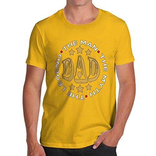 TWISTED ENVY - Top - Maniche corte  - Uomo giallo X-Large