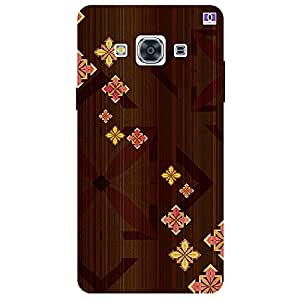 Brown Design - Mobile Back Case Cover For Samsung Galaxy J3 Pro