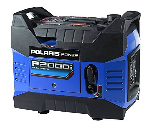 Polaris P13GDGBNA Power P2000i Portable Gas Powered Digital Inverter Generator, 2000-watt