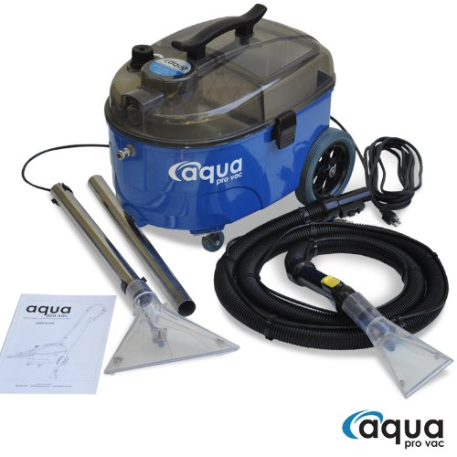 Portable Carpet Cleaning Machine, Lightweight and Quiet Carpet Spotter and Extractor ideal for Auto Detailing, Hotels, Offices and Residential Homes - Aqua Pro Vac (Detail Shampooer compare prices)