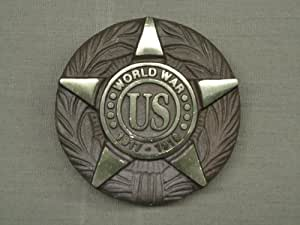World War I Veteran Bronze Grave Marker with Ground Stake
