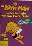 Window-Color-Vorlage: Die Biene Maja Fröhlich bunte Window-Color-Bilder- mit Vorlagen in Originalgröße
