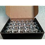 AccuWheel LNA-12125C5 Chrome Bulge Acorn Wheel Lug Nuts (12mm x 1.25 Thread Size) 1.4