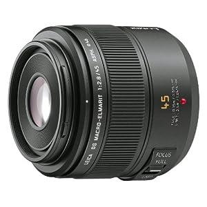 Panasonic 45mm f/2.8 Leica DG Macro-Elmarit Micro Four Thirds Lens