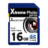 Zectron Digital Pro 16GB Class 10 High Speed SDHC Memory Card for Canon PowerShot SX50 HS
