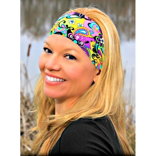 RAVEbandz Sports & Fitness Headbands - HIPPIE CHICK