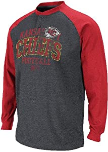 Kansas City Chiefs BSD Long Sleeve Henley T Shirt by VF by VF