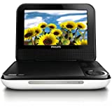 Philips PD700/37 7-Inch LCD Portable DVD Player, White (Discontinued by Manufacturer)