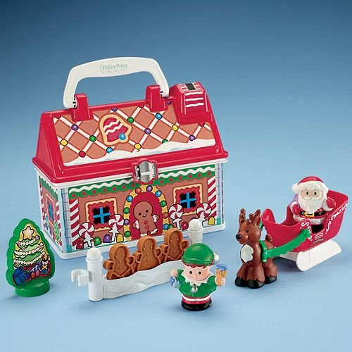 Fisher-Price Little People On-the-Go Christmas Shop