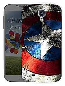 "Humor Gang Star Shield Printed Designer Mobile Back Cover For ""Samsung Galaxy S4"" (3D, Matte, Premium Quality Snap On Case)"