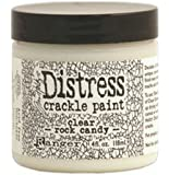 Tim Holtz Distress Crackle Paint 4 oz Jar, Clear Rock Candy
