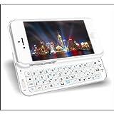 iPhone5専用 スライドケース式 Bluetooth3.0 バックライト付き VM-BSK5-WH ホワイト / Firesar