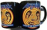 Anthrax State of Euphoria Black Boxed Mug