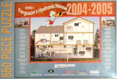 Ferguson's Hydronic House 2004-2005 Puzzle ~ 550 Pieces