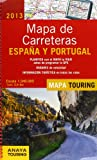 Mapa de carreteras Espa¤a y Portugal 2013 / Road Map Spain and Portugal 2013: Escala 1:340.000 / Scale 1:340.000