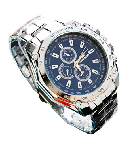 Brand New Orlando Business Men'S Luxury Sport Stainless Wrist Watch
