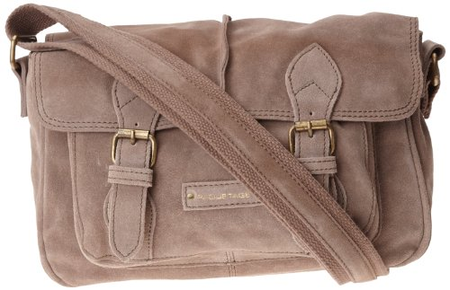 Paquetage Serge, Borsa a tracolla donna Beige Beige (Taupe)