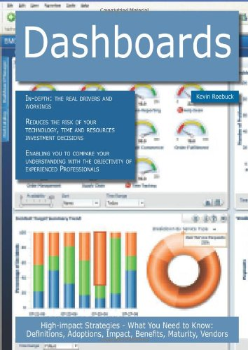 Dashboards: High-Impact Strategies - What You Need to Know: Definitions, Adoptions, Impact, Benefits, Maturity, Vendors