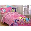 Hasbro My Little Pony Heart To Heart Twin Comforter For Children