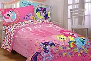 Hasbro My Little Pony Heart To Heart Twin Sheet Set for Children