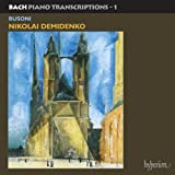 Bach: Piano transcriptions 1