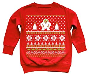 Funny Yeti Ugly Christmas Sweater Kids Sweatshirt