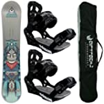 AIRTRACKS SNOWBOARD SET - WIDE BOARD...