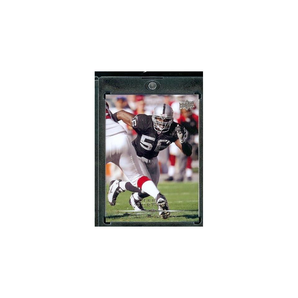 2008 Upper Deck #138 Derrick Burgess   Oakland Raiders   NFL Trading Cards