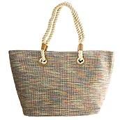 Multicolor Woven Bag