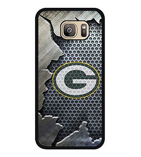 Samsung Galaxy S7 Edge TPU Case Custom Design Green Bay Packers 441 (Only Fit Samsung Galaxy S7 Edge) Made By FelixMen from FelixMen2