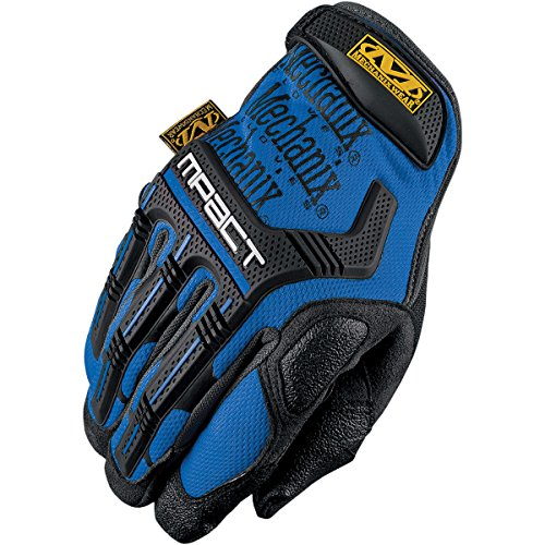 Mechanix Wear MPT-03-008 M-Pact Blue Small Gloves