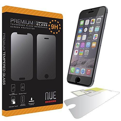 brand new bc225 273f2 iPhone 5s/5c/5/6/6 plus Nue Designs TM Premium Tempered Glass ...