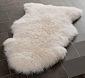 Genuine Sheepskin Rug with Extra Thick Wool from Rughouse