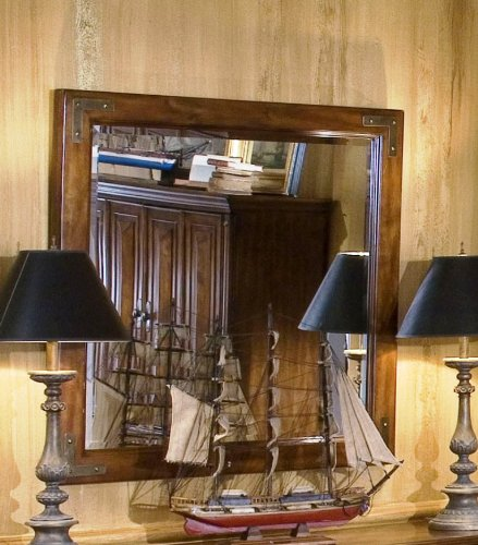 Cheap Console Table Mirror – CLOSEOUT by AICO – Bungalow Brown (85260-36) (85260-36)