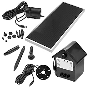 Amazon Com 3 Watt Solar Powered Water Fountain Pump