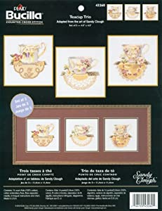 5X5 3/Pkg -Teacup Trio Ccx