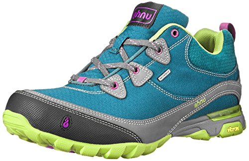 Ahnu Women's Sugarpine Hiking Shoe,Deep Teal,8.5 M US