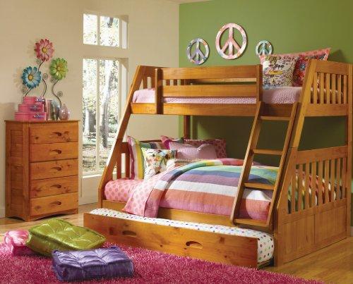 Loft Bed Over Desk 7560 front