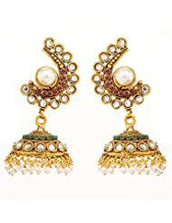 Akshim Multicolour Alloy Earrings For Women - B00NPYB2CS