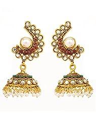 Akshim Multicolour Alloy Earrings For Women - B00NPYB2CS
